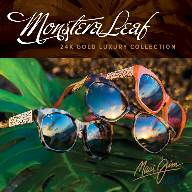 Maui Jim reveals luxury Monstera Leaf sunglass collection