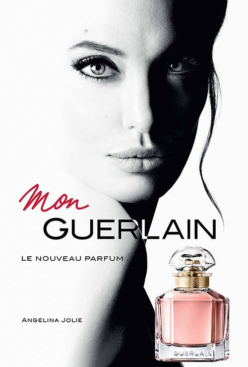 FIRST LOOK: Angelina Jolie's Mon Guerlain set for March launch
