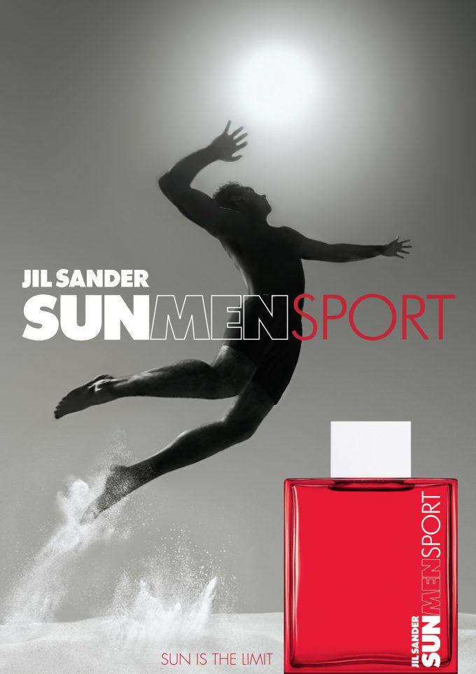 FIRST LOOK: Jil Sander launches Sun Men Sport fragrance