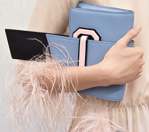 Prada steps out with new Plex Ribbon bags