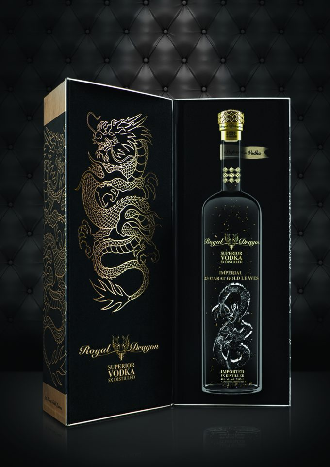 Royal Dragon Vodka set to roar at Heinemann duty free stores