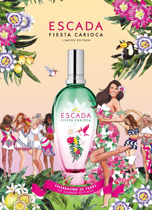 Escada gets the party started with Fiesta Carioca fragrance