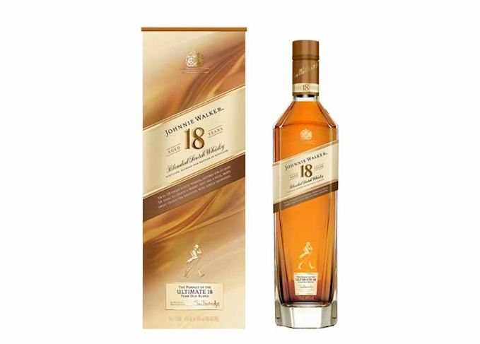 Johnnie Walker gives Platinum Label a refresh for duty-free
