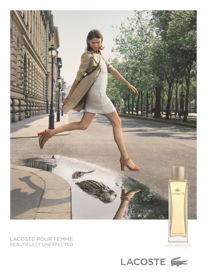 Reinventing an Icon: Lacoste reveals Eau de Parfum Légère