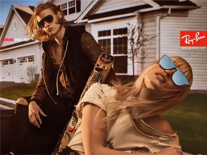 Ray-Ban celebrates 80th anniversary with new Steven Klein campaign