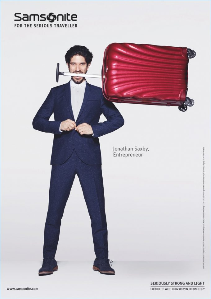 Samsonite and Rankin unveil The Serious Traveller campaign