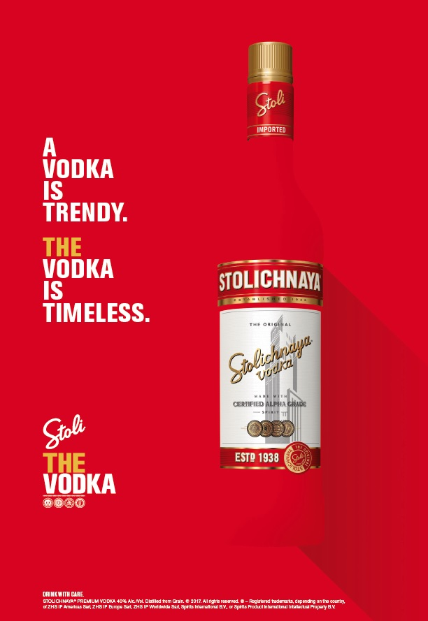 Stoli is THE VODKA as it reaches out to millennials