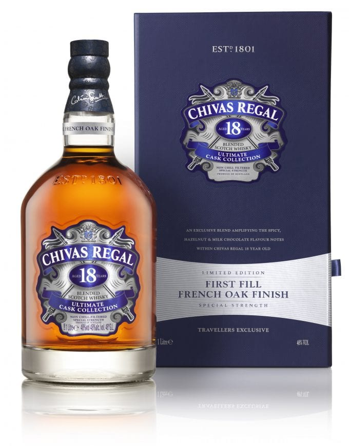 Chivas Regal unveils its 2nd 18yo Ultimate Cask expression, exclusive to duty-free