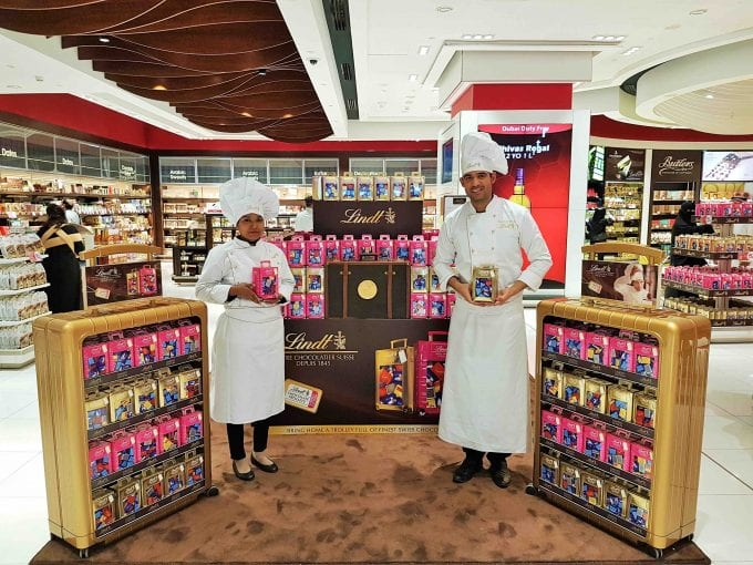 Lindt wheels out exclusive souvenir range with Dubai Duty Free