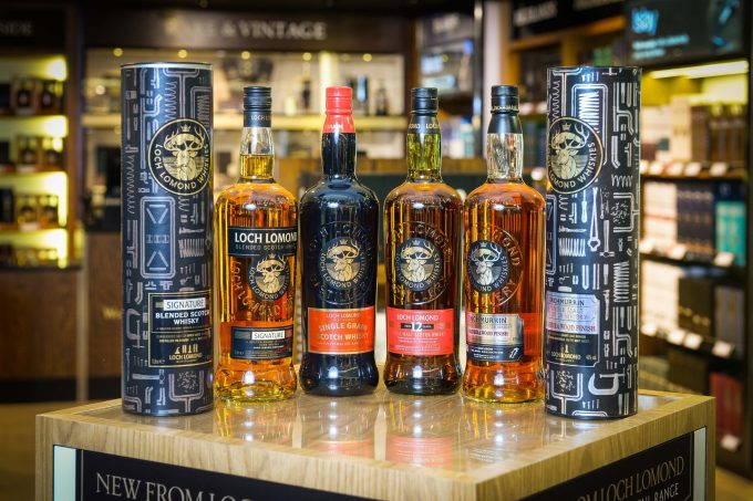 Loch Lomond whisky earns its wings with World Duty Free