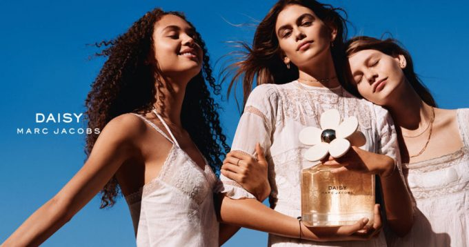 Kaia Gerber wows as the new face of Marc Jacobs Daisy perfume