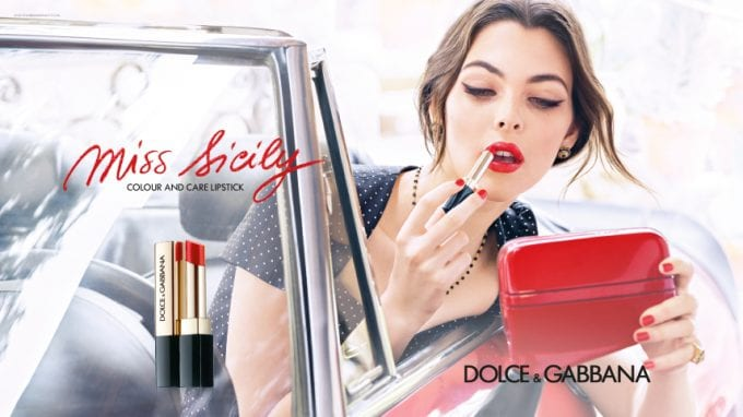 Miss Sicily is the seductive new D&G lipstick for Spring