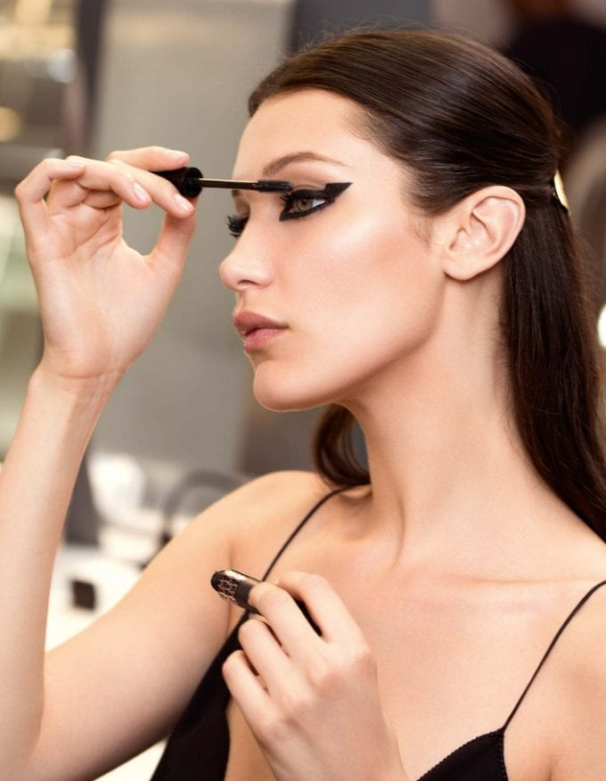 Dior puts on a Show: Bella Hadid reveals the new beauty must-haves