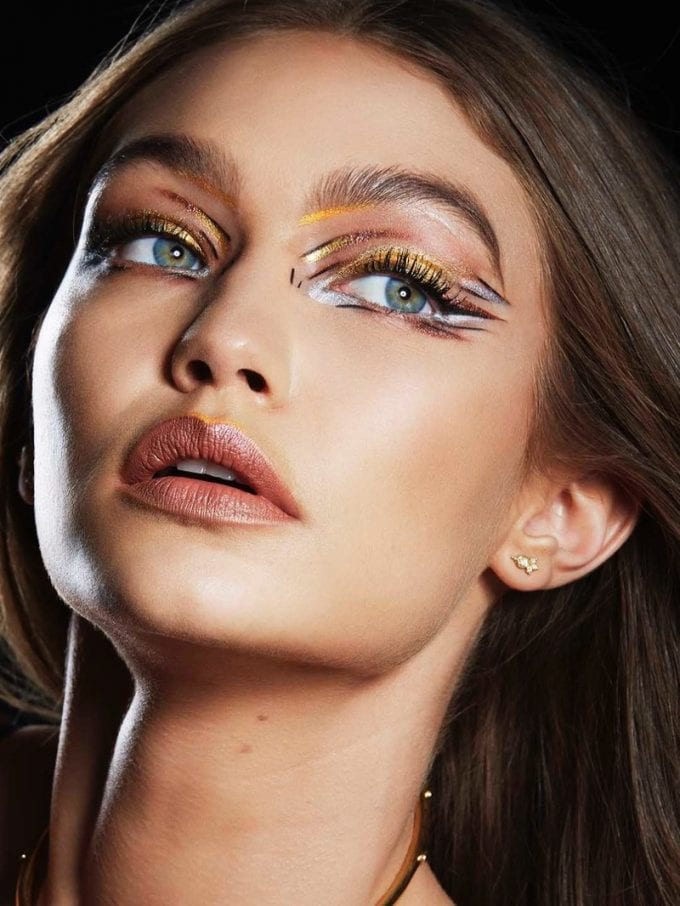 Gigi Hadid rocks heavy metal in new Maybelline campaign