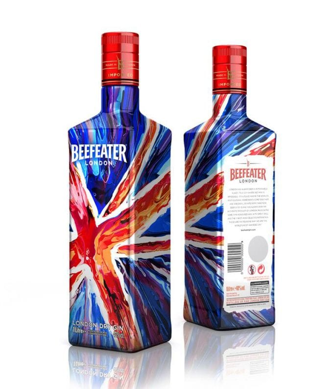 Beefeater launches limited edition bottle to celebrate the creative spirit of London
