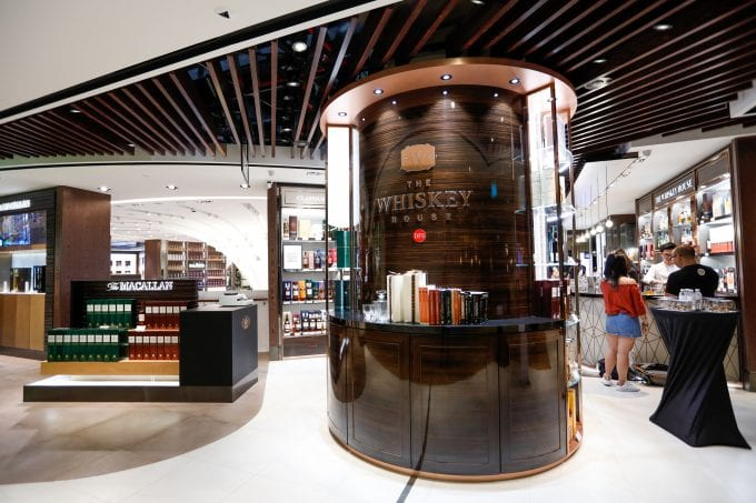DFS celebrates Whiskey with Global Festival airport events
