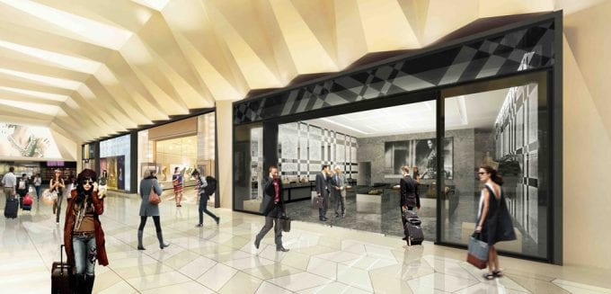 Tiffany, Burberry, Ferragamo & Armani bring luxury to Melbourne airport