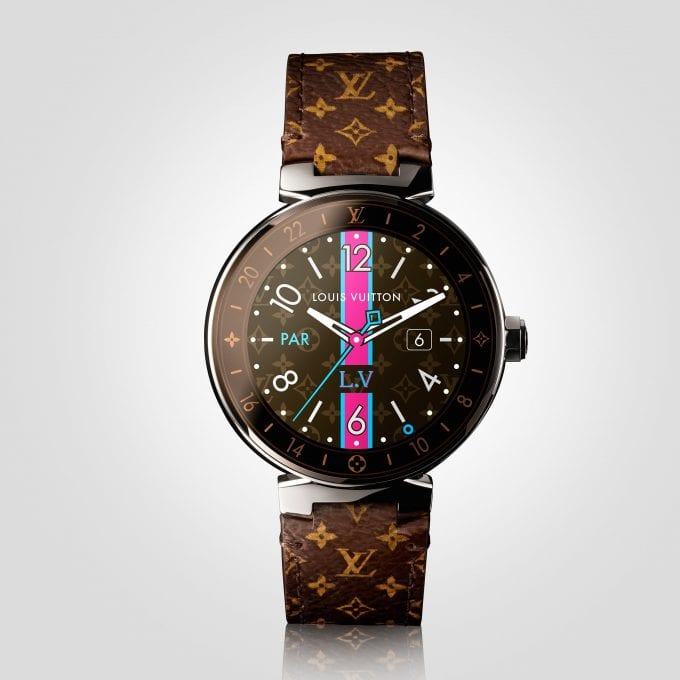 Louis Vuitton unveils a smartwatch for the Global Traveller