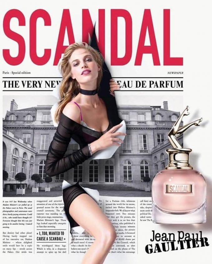 Scandal in duty-free! Gaultier launches new fragrance with Heathrow exclusive
