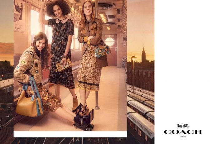 Coach brings style to the New York Subway