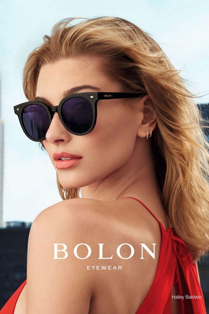 Hailey Baldwin stars in Bolon Eyewear campaign
