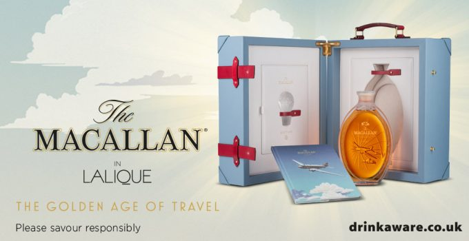 The Macallan Golden Age of Travel 2nd Edition Soars into Heathrow