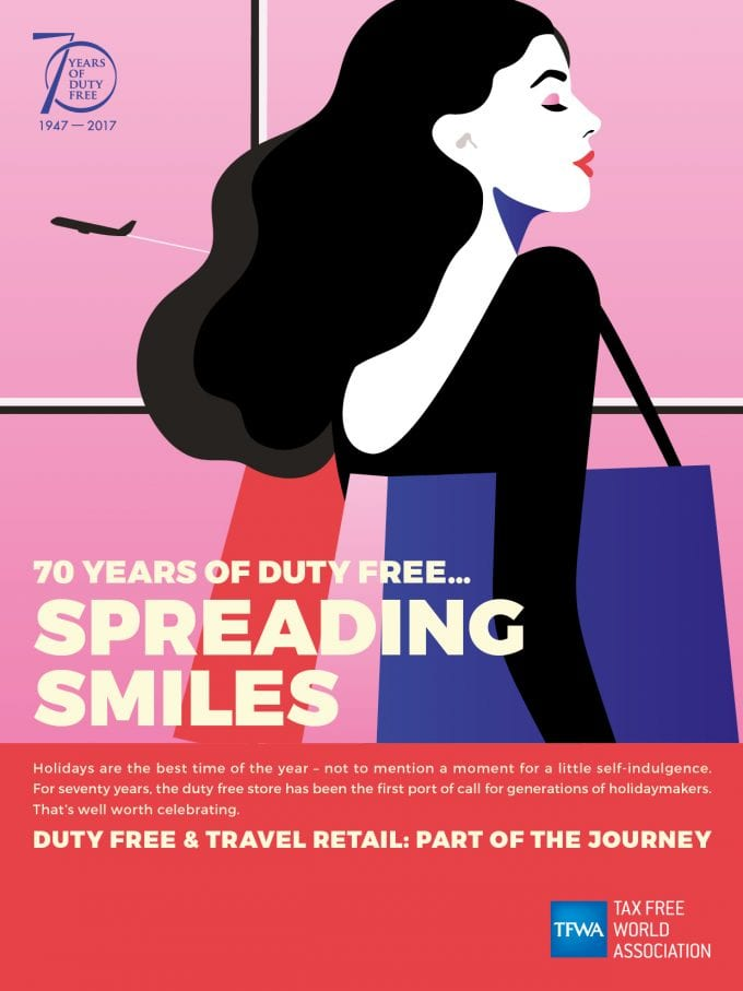 Duty-free turns 70 – and reveals plans to celebrate