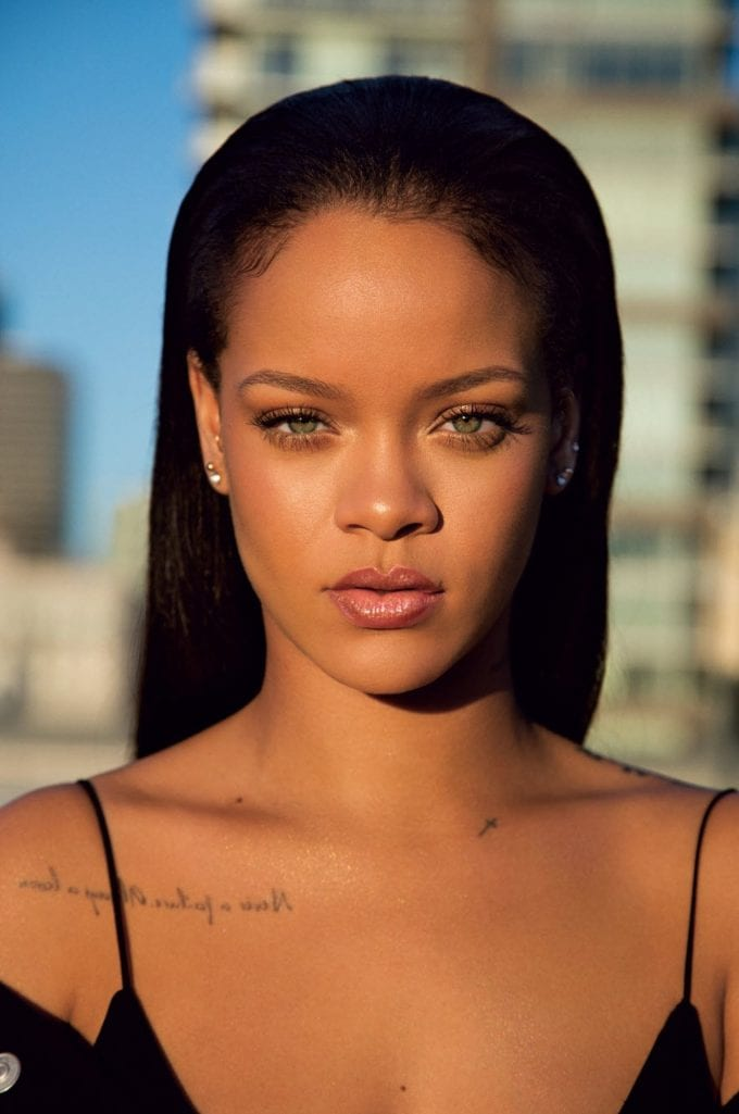 Rihanna launches her Fenty Beauty brand in 17 Countries in a single day
