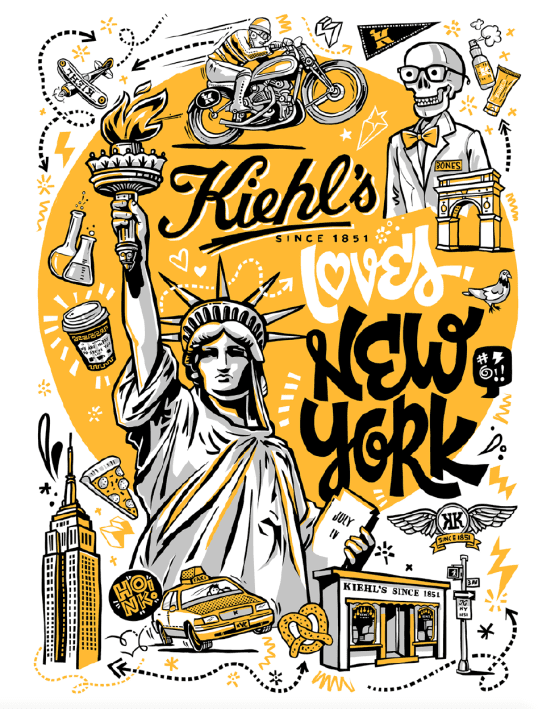 Kiehl's thrills travellers with new 'Kiehl's Loves' limited editions in duty-free