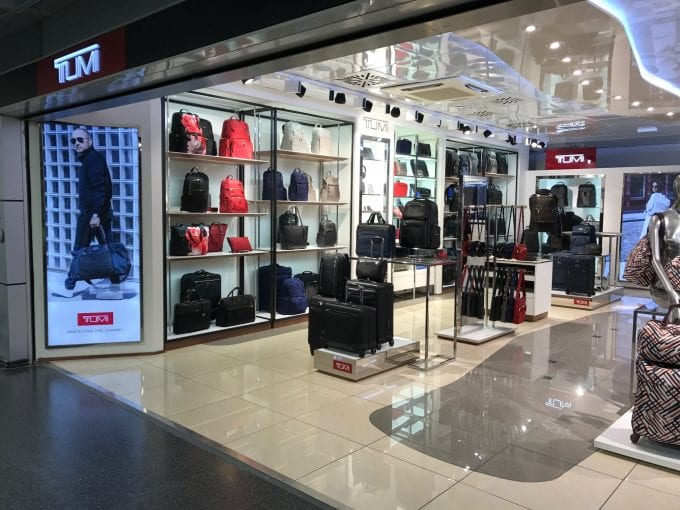 TUMI opens new store at Milan Linate Airport