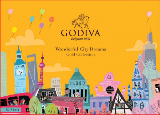 Godiva launches Wonderful City Dreams collections to treat global shoppers