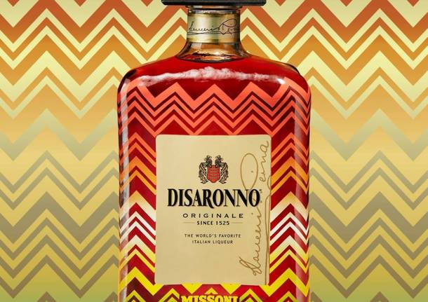 Disaronno wears Missoni – new fashion icon comes to duty-free