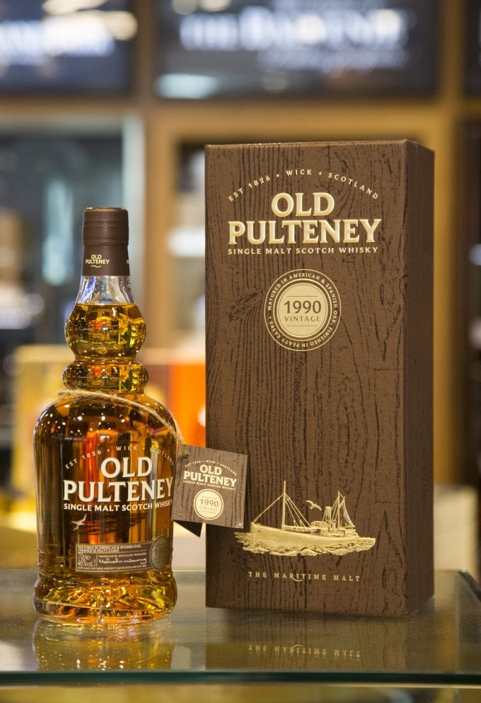 Old Pulteney launches 1990 Vintage Cask exclusively at Heathrow's World Duty Free