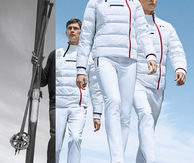 Lacoste unveils French Olympic Team uniforms for 2018 Winter Games
