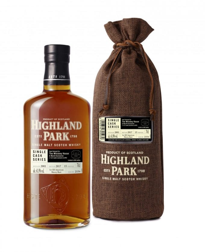 Highland Park Single Cask makes Asia debut with DFS at Singapore Changi Airport