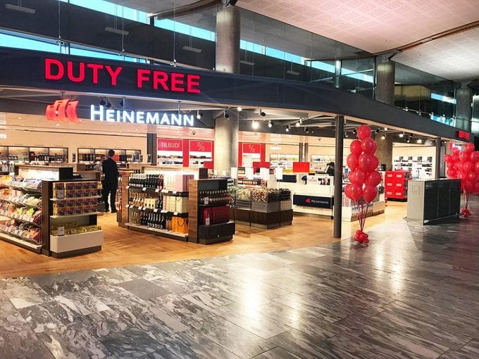 Heinemann opens new duty-free shop at Oslo Aiport