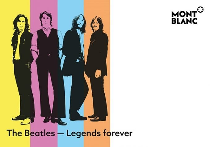 Yeah, yeah, yeah! Montblanc honours The Beatles with limited editions