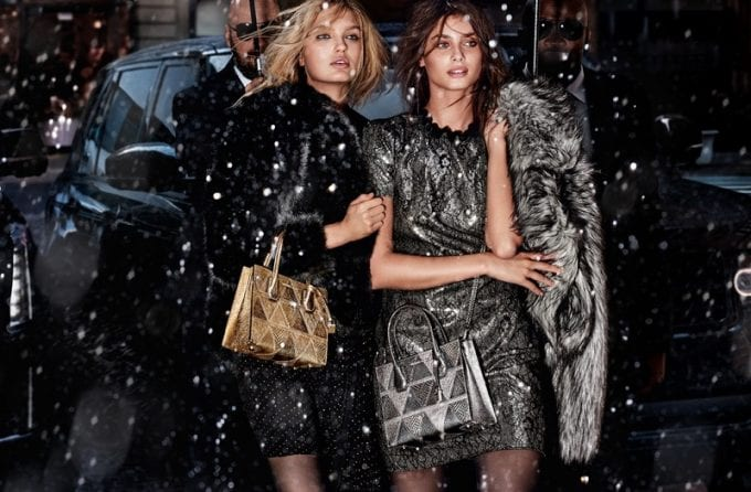 Let it snow! Michael Kors & Mario Testino deliver a shot of winter glamour
