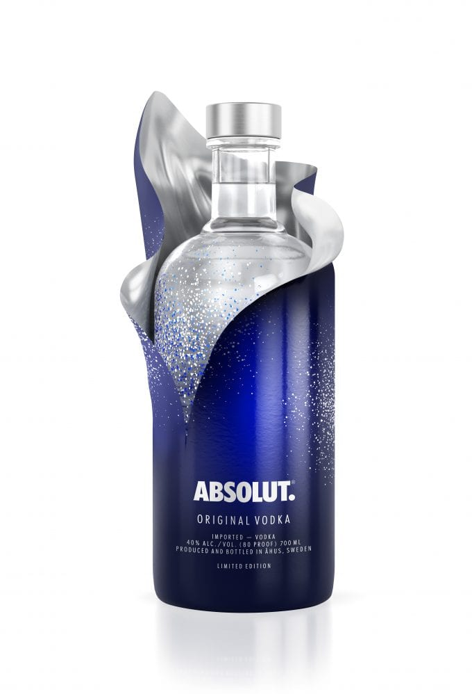Absolut uncovers the festive spirit at airports worldwide with limited edition bottles