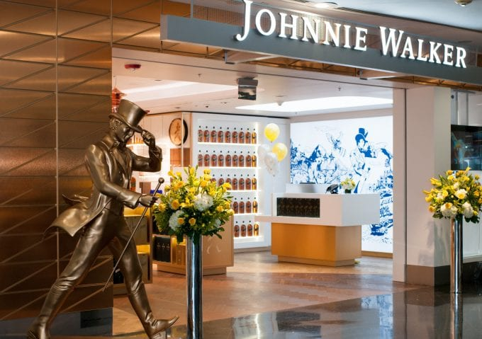 Miami International Airport opens the first Johnnie Walker Store in the Americas
