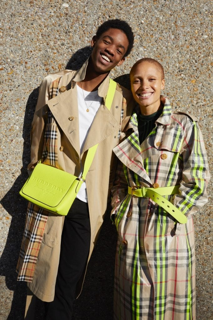 Burberry collaborates with Adwoa Aboah to launch new collection