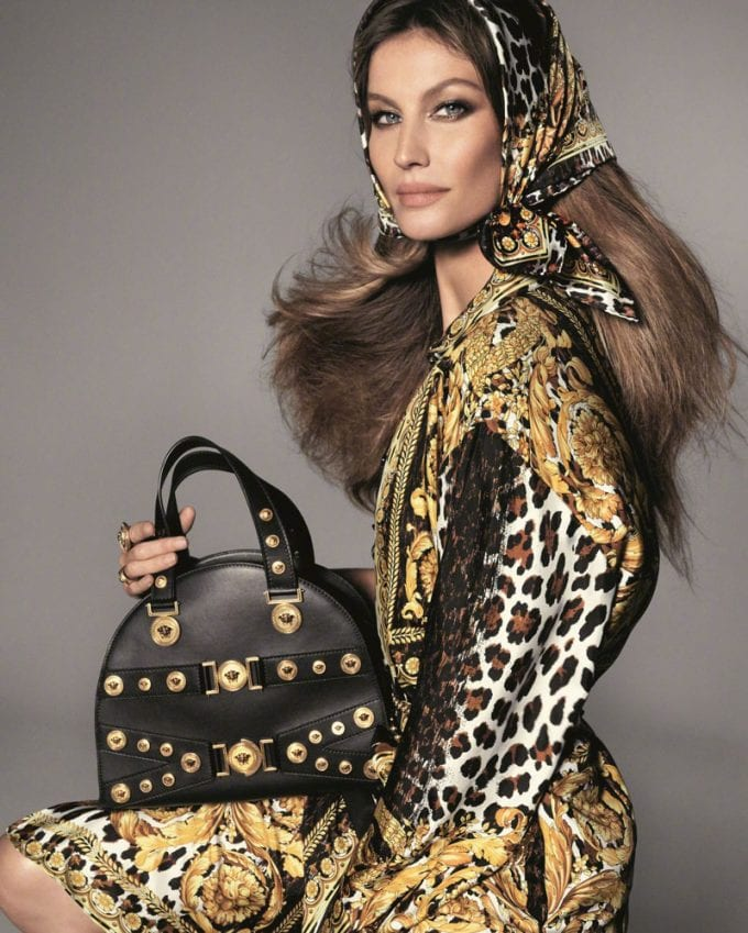 Versace brings out the Supermodels for its latest campaign