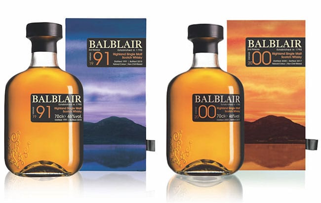 Balblair Scotch whisky reveals new 'exquisite drams' with 1991 and 2000 vintages
