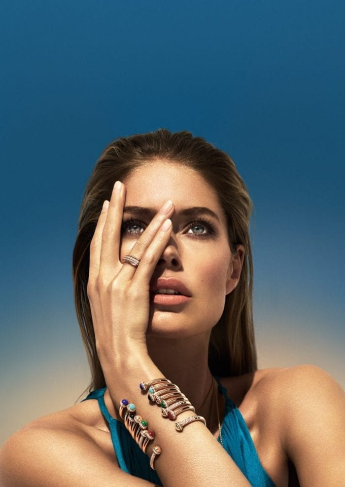 Piaget sees the Sunny Side of Life with Doutzen Kroes as the new face of the brand