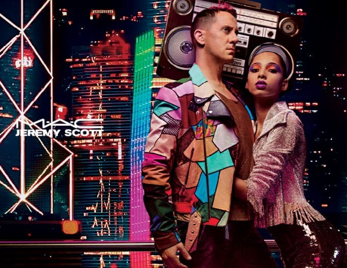 MAC reveals music-inspired beauty collaboration with Jeremy Scott