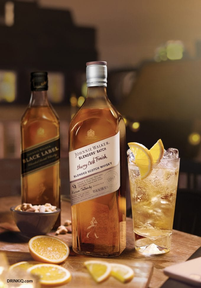 Johnnie Walker debuts new Blenders' Batch edition – Sherry Cask Finish: A Limited-Edition, Exclusive to duty-free