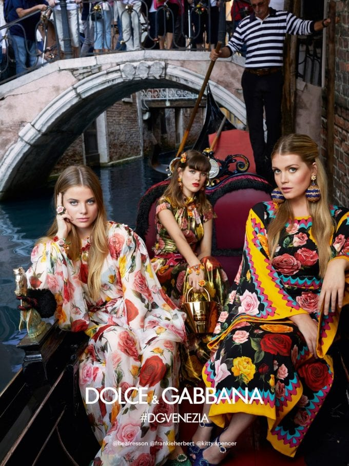 Venice and its tourists star alongside models in new Dolce&Gabbana ads