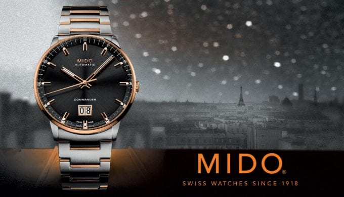 MIDO launches exclusive Commander Big Date edition with DFS