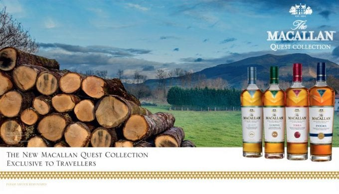 The Macallan Quest Collection tempts travellers at DFS in Singapore Changi