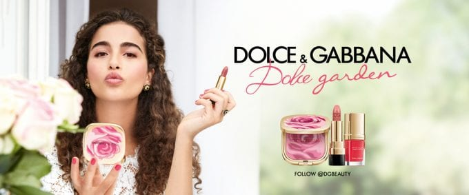 Dolce&Gabbana opens the Dolce Garden makeup collection
